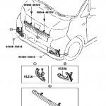 LA150S ムーヴ フロントLEDイルミネーションランプ